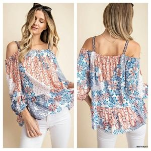 Festival ready off shoulder tops